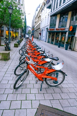 Hamburg rental bicycles